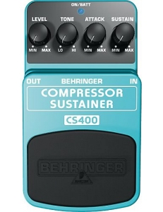 Behringer COMPRESSOR/SUSTAINER CS400