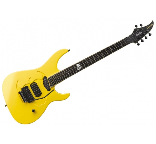 6-струнная бутиковая электрогитара Caparison Apple Horn Yellow W/TT Fret
