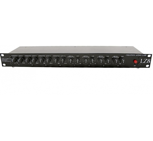 Rack Creation Audio Labs LZ8 Isolated DI