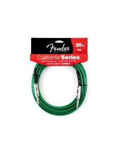 Fender 20' California Cable Surf Green