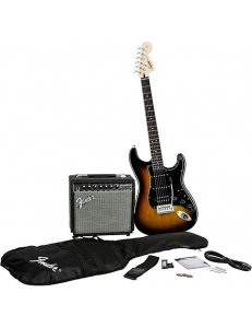 Squier Affinity Strat HSS & Champion 20 Brown Sunburst