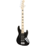Fender American Elite Jazz Bass® MN Black
