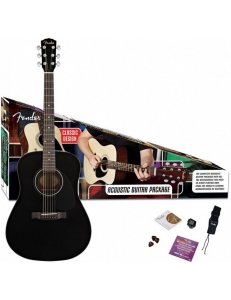 Fender Dreadnought Pack CD-60 Black