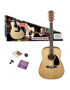 Fender Dreadnought Pack CD-60 Natural