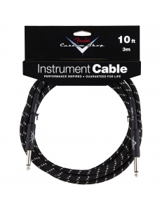 "Fender Custom Shop 10"" Instrument Cable Tweed"