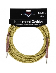 "Fender Custom Shop 18.6"" Instrument Cable Twee"