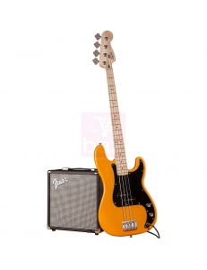 Squier Affinity Precision Bass & Rumble 15 Amp Butterscotch Blonde