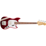 Fender Mustang Bass Pawn Shop RW Candy Apple with Stripe
