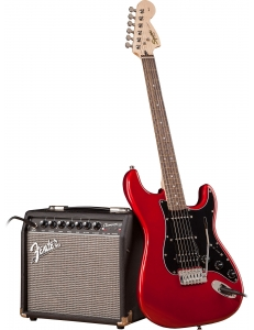 Squier Affinity Strat HSS & Champion 20 Candy Apple Red