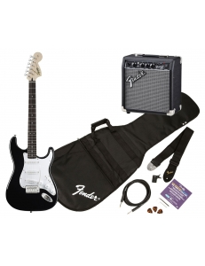 Squier Stratocaster SE Special with Squier SP-10 Amp Black