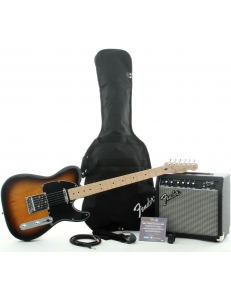 Fender Stop Dreaming, Start Playing!™ Set Affinity Series™ Tele® & Fender Frontman® 15G Amp - Brown Sunburst