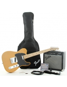 Fender Stop Dreaming Start Playing!™ Set Affinity Series™ Tele® & Fender Frontman® 15G Amp - Butterscotch Blonde