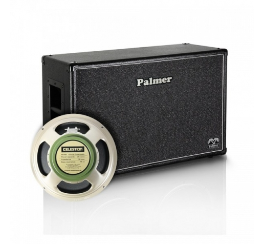 1 х 12 Celestion G12M Greenback гитарный кабинет Palmer CAB212 GBK