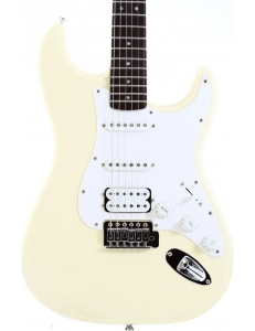 Squier Stratocaster Bullet HSS RW Arctic White