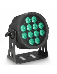 Cameo FLAT PRO 12 IP65 - 12 x 10 W FLAT LED Outdoor RGBWA PAR прожектор черный