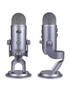 Blue Microphones Yeti Cool Grey студийный usb микрофон