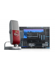 Blue Microphones Raspberry Studio комплект микрофона Raspberryl и программы для записи PreSonus Studio One Artist