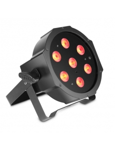 Cameo FLAT PAR CAN TRI 3W IR - 7 x 3 W High Power TRI colour FLAT LED RGB PAR прожектор черный