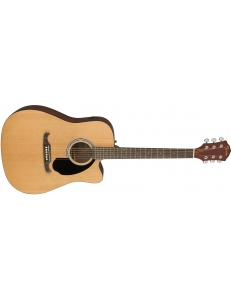 FENDER FA-125CE Dreadnought Natural электроакустическая гитара, дредноут, цвет натуральный