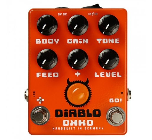 Overdrive OKKO Diablo Gain Plus Overdrive