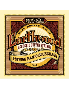 Ernie Ball Earthwood 80/20 Bronze Bluegrass 2063