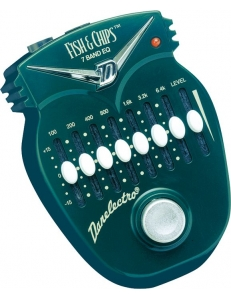 Danelectro DJ14  Fish & Chips 7-Band EQ