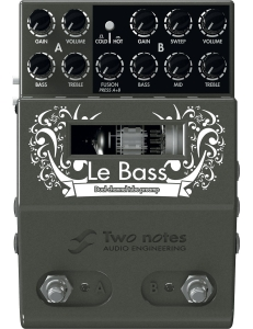 Two Notes Le Preamp Le Bass